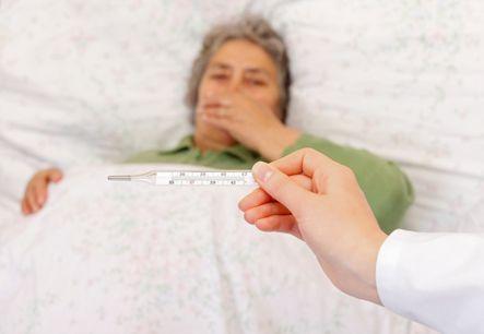 اعراض الامراض المعدية